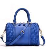 La signora di sacchetto di Boston cuscino insacca la borsa del cuoio genuino per le donne