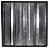 Compacte v-Bank HEPA Filter H13-H14, Filter van de Lucht van de Hoge Efficiency de Industriële