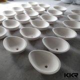 カウンタートップアクリルの固体表面のイタリアデザイン洗面器