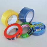 Hellgelbe Farben-universelles selbsthaftendes Kreppband