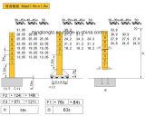 10t構築の水平寄せのタワークレーンQtz200lf10 (FL25/30)