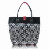 خاصّ بالأزهار مع [بو] جلد تصميم من حقيبة يد وظيفيّة لأنّ نساء