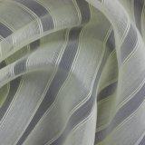 Helles gestreiftes gefärbtes dünnes Polyester-Gewebe