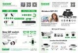 OEM van kabeltelevisie P2p 2MP 2.812mm van de Motor van het Gezoem van de Koepel de Digitale VideoIP Camera van Ahd (DH20)
