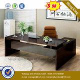 Qualitäts-Executivschreibtisch-Form-hölzerner Büro-Schreibtisch (HX-6M214)