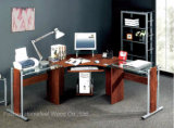Самомоднейший домашний офис l стол компьютера угла формы (HF-CT3818)