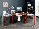 Maison moderne bureau coin forme l ordinateur de bureau (HF-CT3818)