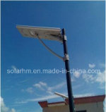 (HM) 12V-18100P60W tout-en-un Rue lumière solaire avec panneaux 100W Mono