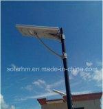 (HM-18100P) de 12V60W Todo-en-uno calle la luz solar con paneles de Mono de 100W