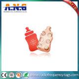 ISO14443uma proximidade irregulares mini placa de epóxi RFID para a adesão