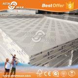 Imprimere il soffitto Bord del gesso del PVC con la parte posteriore del di alluminio