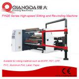 Serie OPP de alta velocidad de Fhqe que raja y máquina el rebobinar
