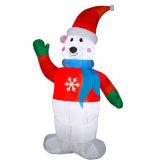 عيد ميلاد المسيح عطلة أسرة حزب خارجيّة مضحكة قابل للنفخ رجل ثلج عرض