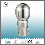 衛生ステンレス鋼のボルトで固定された回転式クリーニングの球