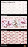 Het roze Bouwmateriaal van de Tegel van de Muur van de Tegel van de Keramiek van de Kleur