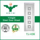 Gestempelte Stahltür-Außenhaut