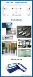 عمليّة بيع حارّ زجاجيّة ألومنيوم تغطية باب مشبك