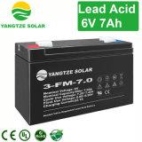 AGM van de Macht 6V 7ah VRLA van Yangtze de Lader van de Batterij