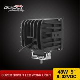 "Luz de carro 48W 4 ""Square Heavy Duty LED Lamp Lamp"