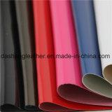 Efeitos de estampagem de calor PU Leather for Book Covering Material