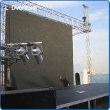 pH5.95 옥외 풀 컬러 임대 LED 영상 벽