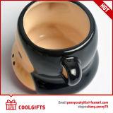 Piccola tazza di ceramica sveglia per formaggio ed il gelato