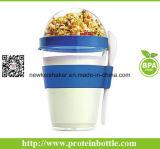 Promoção de venda quente Dom Iogurte Cup com uma colher