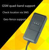 El rastreador web de la tarjeta SIM con GPS de seguimiento de vehículos