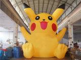 2019 Nouveau dessin animé de Pikachu gonflables géants pour la vente de répliques