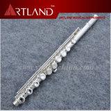 16 trous fermés en argent plaqué importées Cupronickel professionnel flûte (AFL5509)