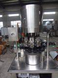 Автоматическая алюминиевая покрывая машина для стеклянной бутылки