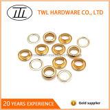 Occhielli chiari del metallo dell'oro 10mm per la tenda o l'indumento