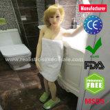Doll van het Geslacht van het Silicone van 125cm Realistische met Reusachtige Domoren