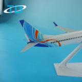 Fly Dubai B737-800 26cm de plástico modelo de la decoración del avión