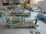 Máquina de rellenar líquida semiautomática del acero inoxidable