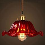 Sechs Farben für Innenbeleuchtung-hängende Lampe mit Glas im Abendessen-Raum