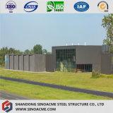 Moderner Entwurfs-vorfabrizierte strukturelle Auto-Stahlausstellung Hall