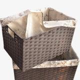 Cesta de papel natural hecha a mano respetuosa del medio ambiente (BC-PB1010)