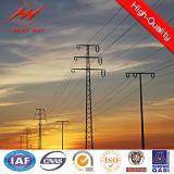 Galvanisierter Pole-Preis für 132kv Netzverteilungs-Übertragungs-Zeile