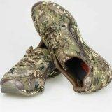 Воинский тактический напольный Hiking ботинок спортов пустыни водоустойчивой тренировки перемещая резиновый Nylon единственный обувает ботинок