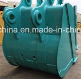 Assy reforçado da cubeta da máquina escavadora de Kobelco Sk120-5 Sk200-3 cubeta resistente
