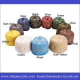 ウールのフェルト材料Embroideriedから成っているイスラム教の帽子のアラビアのターバンのイスラム教の帽子