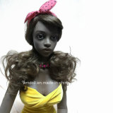 132cm実物大の黒い愛人形