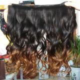 Het in het groot Onverwerkte Natuurlijke Maagdelijke Braziliaanse Haar van Menselijk Haar/100%