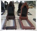 Надгробная плита Headstones памятника русского черного гранита похоронная