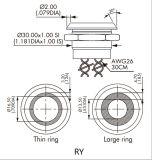 interruttore piezo-elettrico di 30mm