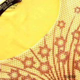 Las señoras de Srta. You Ailinna 102977 amarillean la alineada maxi del acoplamiento