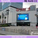 La publicidad de vídeo a todo color de LED de exterior Vallas publicitarias