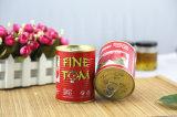 安い価格によって缶詰にされるトマトのりとのHalalの証明の高品質
