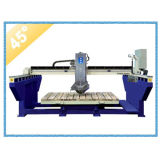 CNC Stone Bridge Cutter com lâmina inclinando 45 graus